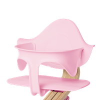 Supporting highchair restraint - Pale Pink