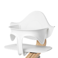 Supporting highchair restraint - White