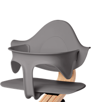 Supporting highchair restraint - Grey