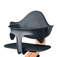 Supporting highchair restraint - Antracite