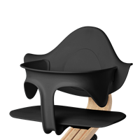 Supporting highchair restraint - Black