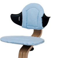 Smart reversible highchair cushion Pale Blue/Sand